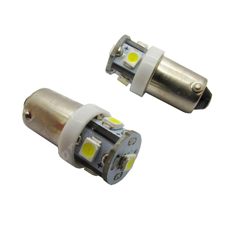 10 шт. Super White #44 #47 Ba9s штык 5 * 3528SMD AC 6.3 В образец пинбол свет для игры пинбол части машины не стряхивая