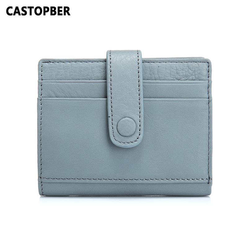 New Arrival Women's Cow Genuine Leather Short Wallet Women Slim Coin Purse Mini Bag Fashion Money Wallets For Girls Brand Design купить