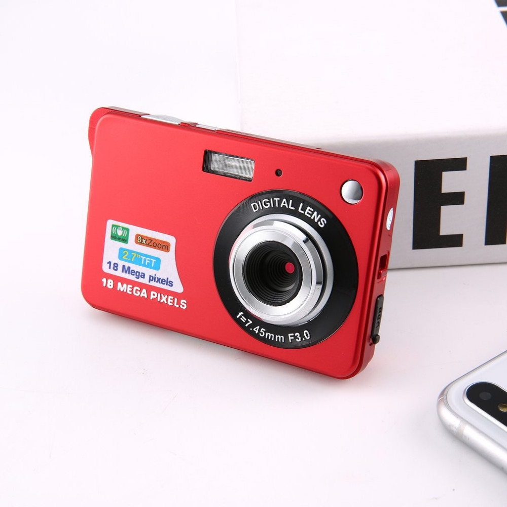 2.7 Inch Ultra-thin 18 MP HD Digital Camera Video Camera Student Digital Cameras For Kids Best Gift