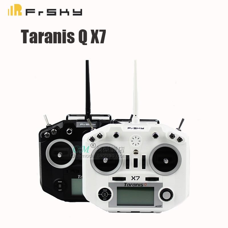 Oyuncaklar ve Hobi Ürünleri'ten Parçalar ve Aksesuarlar'de FrSky ACCST Taranis Q X7 QX7 Olmadan 2.4 GHz 16CH Verici Alıcı RC Multicopter Için'da  Grup 1