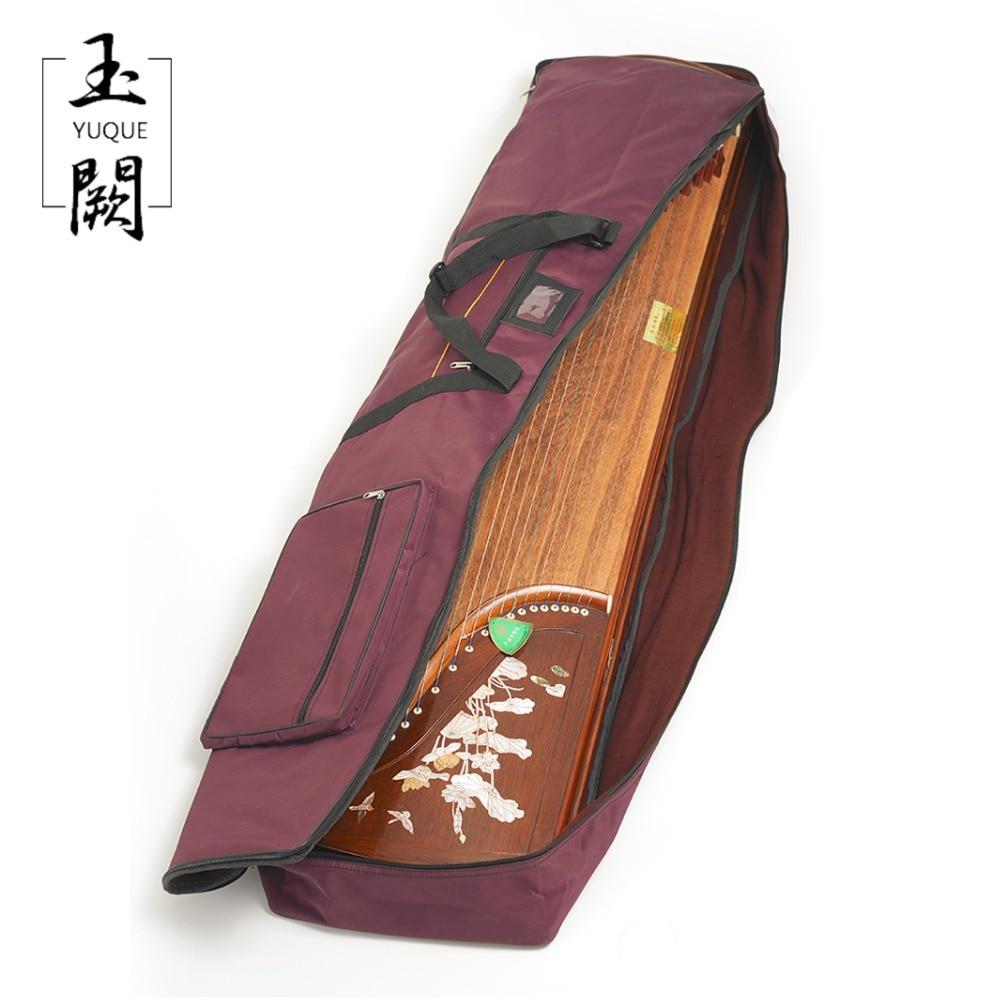 """Yuqueオックスフォードguzheng保護ソフト持ち歩くケース/ポータブルバッグケースカバー用guzheng旅行バッグ付き1 """"厚いパディング  グループ上の スポーツ & エンターテイメント からの 古筝 の中 2"""