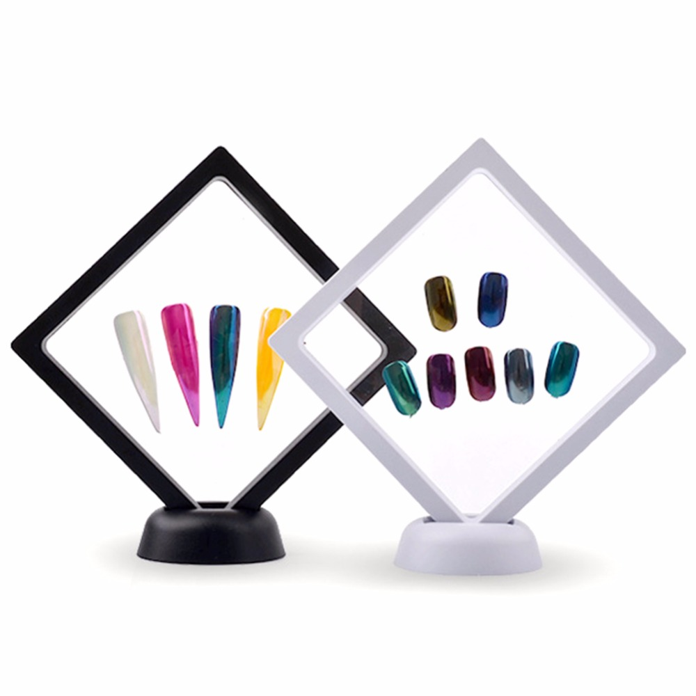 Maniküre Nail art Display ständer Nagel Gel Polieren Zeigt Regal ...