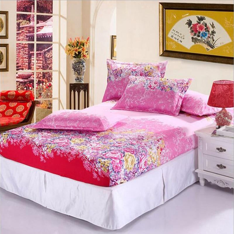 bedding sheets elastic mattress cover satin silk bed linen. Black Bedroom Furniture Sets. Home Design Ideas