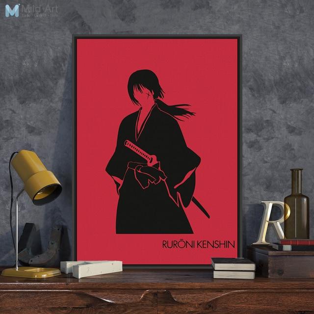 Aliexpress.com : Buy Red Japanese Anime Rurouni Kenshin