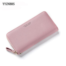 Women Clutch Pink Wallets Phone Pocket Purse Card Holder Women Long Wallet Lady Fashion Long Coin Burse Pasjeshouder Carteira цена в Москве и Питере
