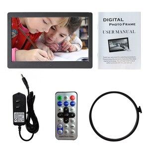 "Image 5 - 10.1 ""HD תמונה דיגיטלית מסגרת תמונה Mult מדיה נגן MP3 MP4 שעון מעורר עבור מתנה"