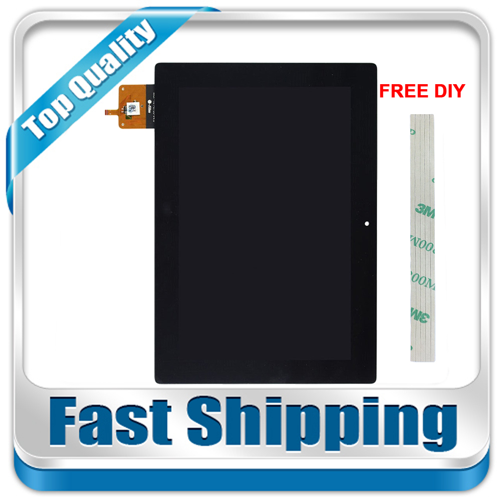 New For Lenovo IdeaTab S6000 S6000H S6000-H Replacement LCD Display Touch Screen Digitizer Assembly Black 10.1-inch