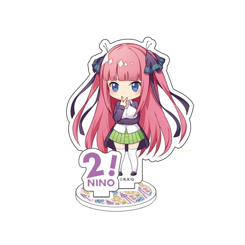 Anime The Quintessential Quintuplets Display Stand Figure Model Plate Holder Japanese Cartoon Figure Acrylic Collection Jewelry