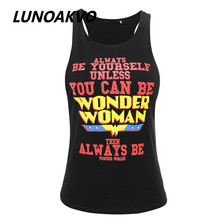 Summer Harajuku Style Fashion Sexy Tank Tops Exercise Fitness Work Out Printed Health Ladies Tops Clothes