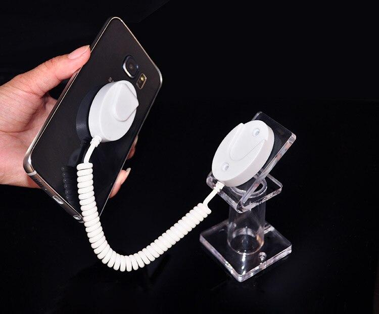 20 шт./лот акрил Дисплей Стенд сотовый телефон Anti-Theft Дисплей держатель mobile rack для розничный магазин выставки безопасности