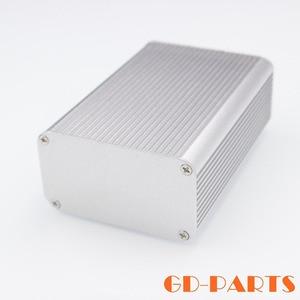 1PC 118x80x45mm Full Aluminum Enclosure Case Amplifier Chassis Hifi Audio DIY Instrument Box Silver Black|amplifier chassis|full aluminum enclosure|chassis hifi -