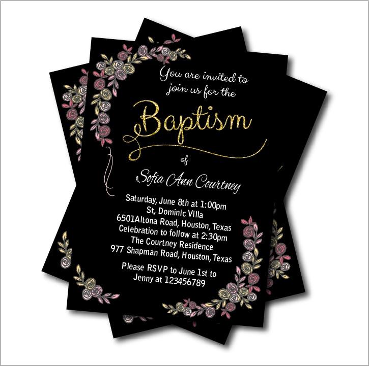 Us 539 40 Off14 Teilelos Vintage Taufe Einladung Baby Dusche Geburtstag Lädt Mädchen Taufe Erste Heilige Kommunion Party Dekoration Versorgung In
