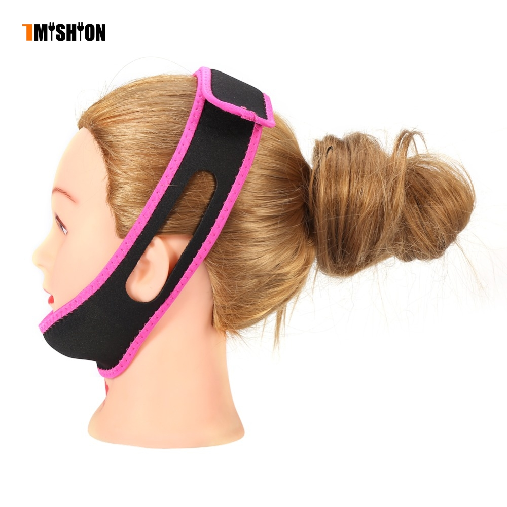 TMISHION 7 Colors Anti-Snoring Belt For Men Women Sleeping Mask Anti Snoring Belt Snore Stop Headband Chin Jaw Support Strap