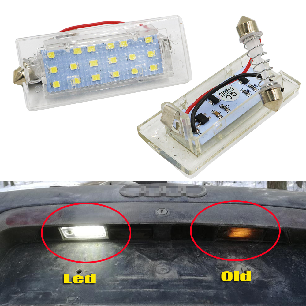 Buy Ysys 2x 1156 Ba15s Bay15d 1157 Connector Female Led Lamp Circuit Board50503smd China Car Ysy 1set 12v 18 License Number Plate Lights Error Free Obd