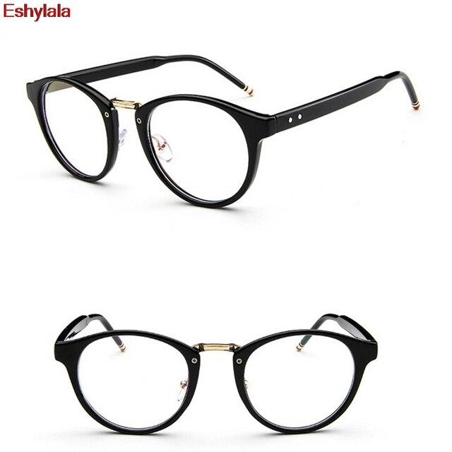 Eshylala Newest Fashion Women Anti Radiation Goggles Plain Glass ...