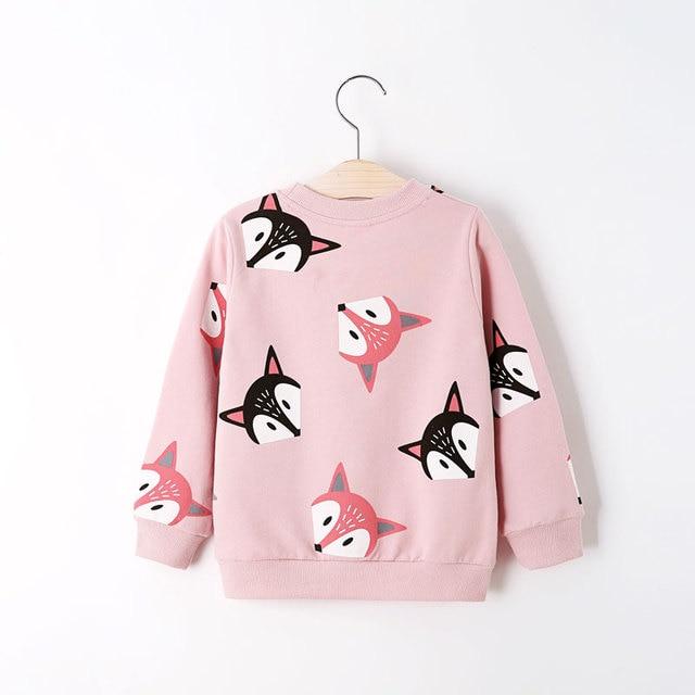 V-TREE Boys Shirts Color Cartoon T-shirt For Girl Cotton Girls Tops Child Shirt Candy Color Kids Blouse School Baby Sweatshirt 3