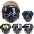 Очки для мотокросса  мотоциклетные очки  съемные очки  УФ защита  Лыжный велосипед для Halley  маска для шлема с открытым лицом