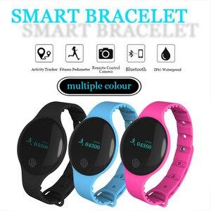 Image 5 - Pulsera inteligente JQAIQ a la moda para Fitness banda de seguimiento de actividad podómetro Bluetooth Oled pulsera inteligente para teléfono inteligente Android Ios
