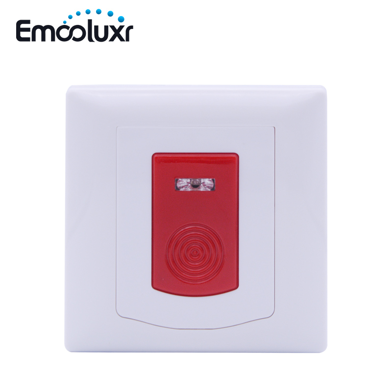 PB-200R Wireless Emergency Button SOS Panic Button work with Wireless Anti-thief Alarm System ST-VGT, ST-IIIB, ST-IIIGW, ST-IV 2 receivers 60 buzzers wireless restaurant buzzer caller table call calling button waiter pager system