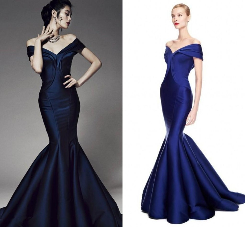 Compare prices on bridesmaid dresses mermaid style online dark blue prom dresses mermaid style 2017 new arrival stain v neck cap sleeve floor length ombrellifo Images