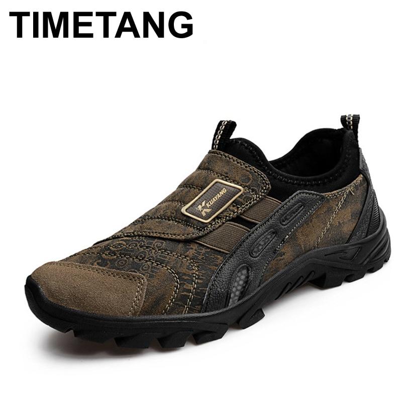 TIMETANG New classic men shoess