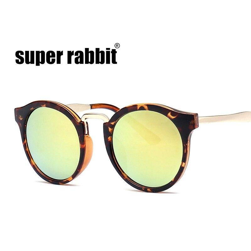 2018 NEW Leopard Print Children Sunglasses Pink/Blue Round Eyewear ...