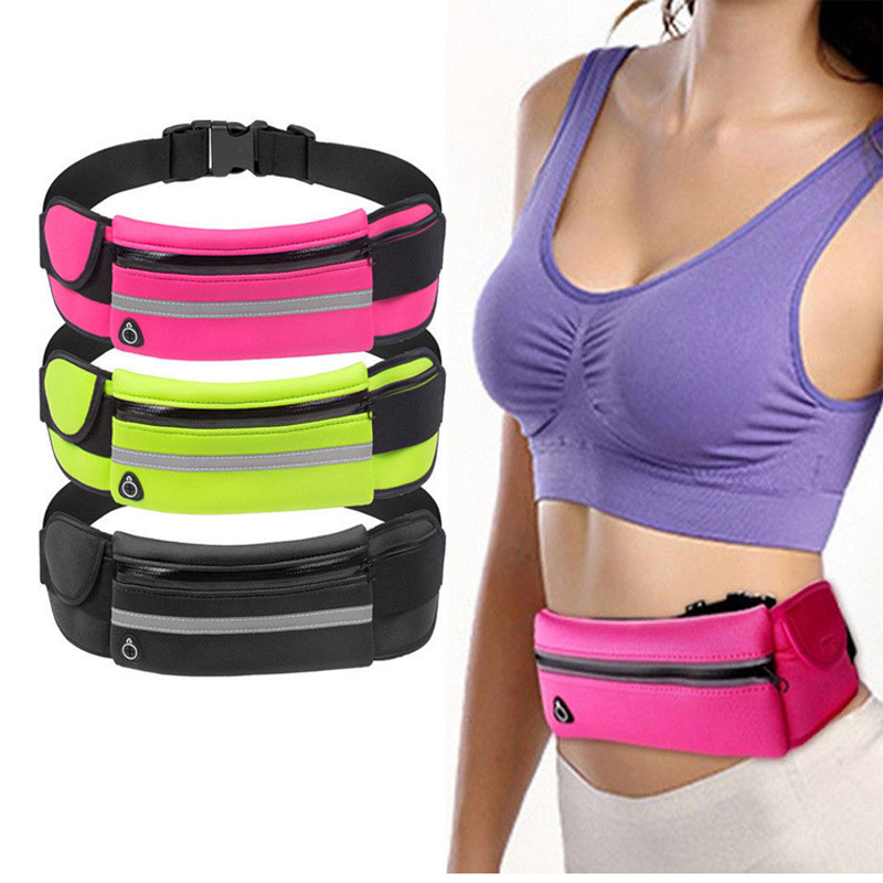 Hip Bum Waist Bag Belt For Women Men Fanny Pack Banana Pouch Bananka Female Male Money Phone Handy On Bumbag Waistbag Belly Free(China)