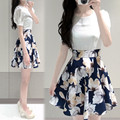 Women Summer Chiffon Dress Women Dress Casual Sexy Lady Hot Dresses Ethnic Print Women Dress Casual For Girls Summer Style Hot