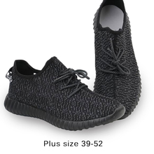 Plus Size 52 Classic Black Men's Footwear Comfortable Ultra Light Shoes Men Shoes No Yeezie Casual Shoes for Men Zapatos Hombre