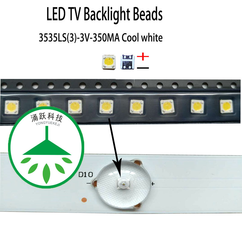 Cheap product led 3535 3v 1w 350ma in Shopping World