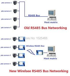 Image 5 - 1 master 4 nô lệ 433 M Không Dây RS485 Xe Buýt RF Cổng Nối Tiếp UART Thu Phát Mô đun DTU DÙNG TRONG PTZ Camera PLC Modbus RTU LED điều khiển