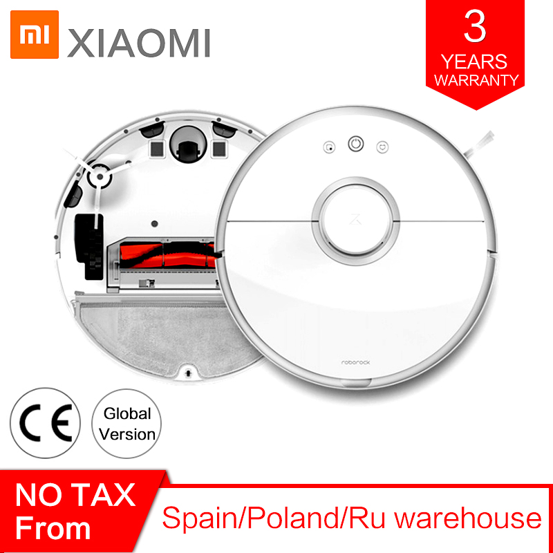 Roborock Robot s50 s55 Xiaomi Vacuum Cleaner 2 for Home Smart Carpet Cleaning Automatic Wet Mopping