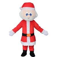 Рождественский костюм маскот канун Рождества праздничное платье для взрослых