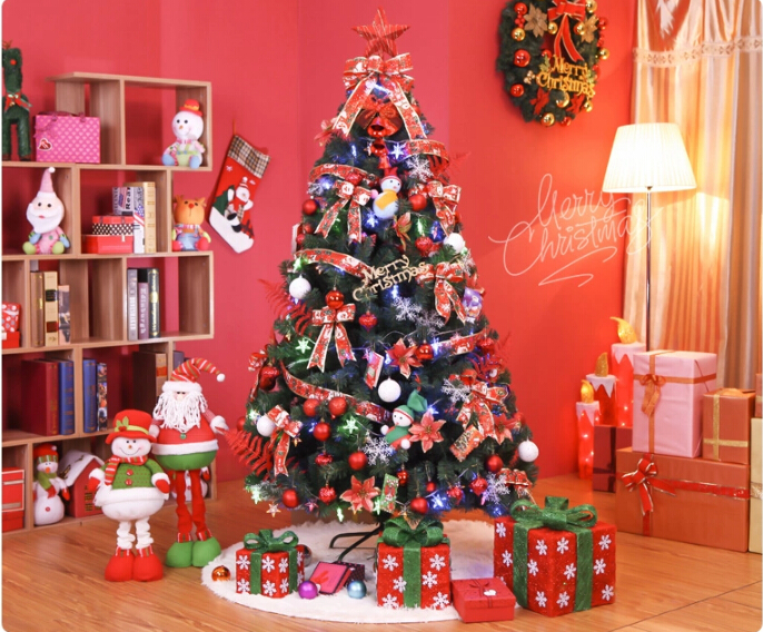 Free shipping event party christmas xmas tree 180cm heavy for 180 degrees christmas decoration