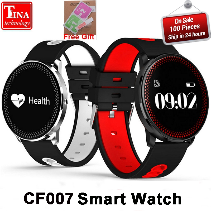 New CF007 Smart Bracelet Heart Rate Monitor Blood Pressure Monitor SMS Notification Smart Band Sport Tracker sport band PK DM58