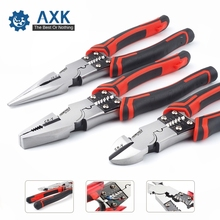 Professional Tools Wire Pliers Set Stripper Crimper Cutter Needle Nose Nipper Wire Stripping Crimping Multifunction Hand Tools free shipping pro skit electrician cable cutter pliers diagonal wire nipper multifunction hand toolkit for electronics repair