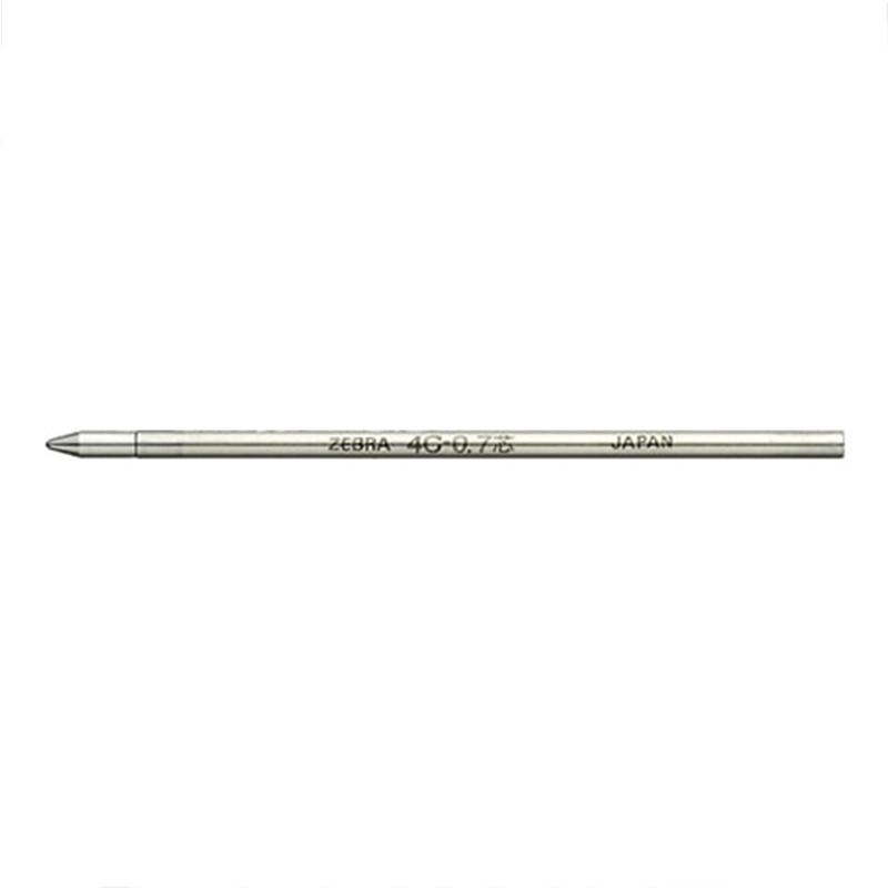 Image 3 - 10pcs Japan ZEBRA Zebra BR 8A 4C 0.7 Metal Ball Refill 0.7mm and Mitsubishi SE 7 General 67mm LongBallpoint Pens   -