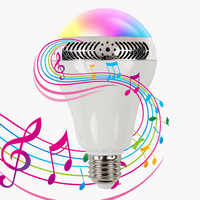 Novelty Speaker Music Light Led Bulb Multifunctional Bluetooth 4.0 Night Lights Wireless Decorative Color Changing