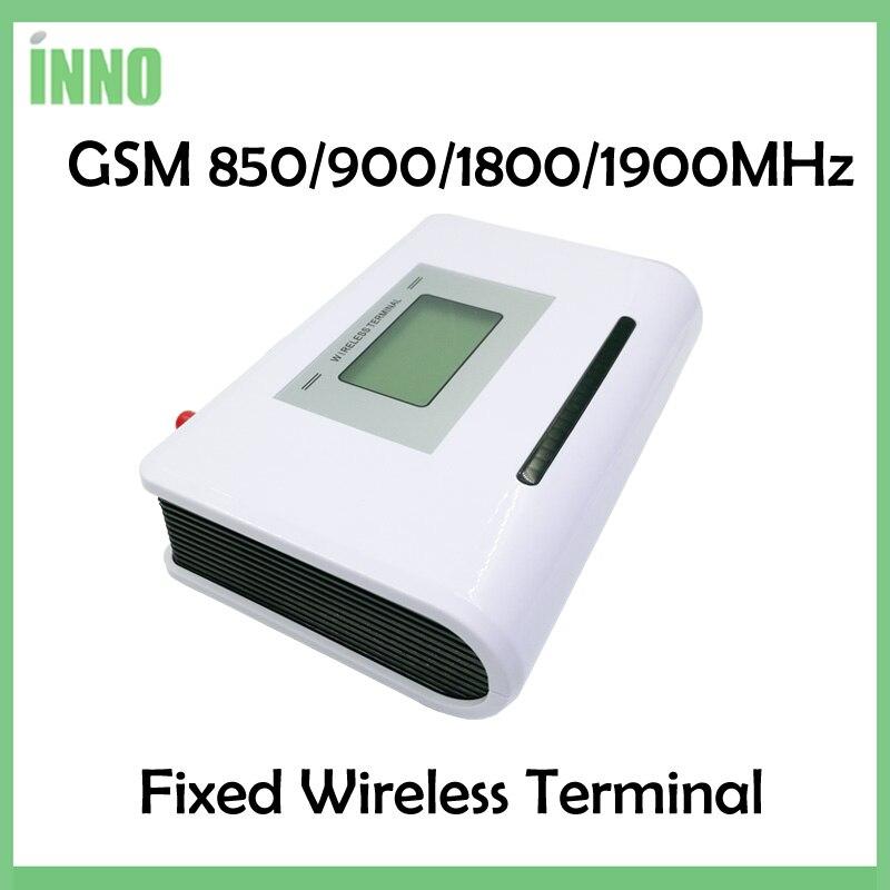 2 шт./лот GSM 850/900/1800/1900 мГц терминал с ЖК-дисплей дисплей, поддержка аварийная система, АТС Clear Voice, стабильный сигнал