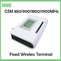 2pcs Lot GSM 850 900 1800 1900MHZ Fixed Wireless Terminal With LCD Display Support Alarm System