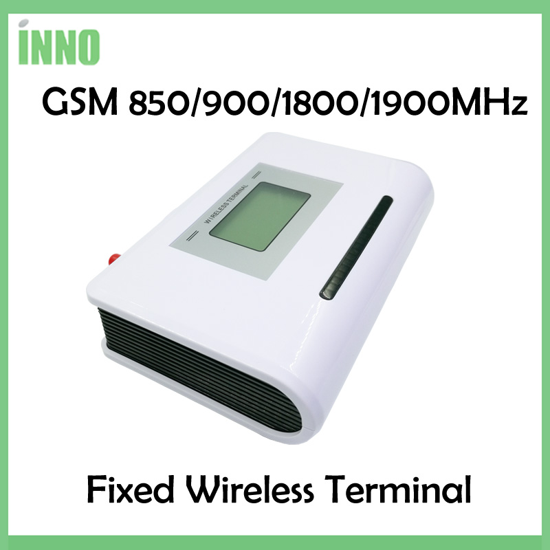 2pcs/lot GSM 850/900/1800/1900MHZ Fixed Wireless Terminal With LCD Display, Support Alarm System, PABX Clear Voice,stable Signal