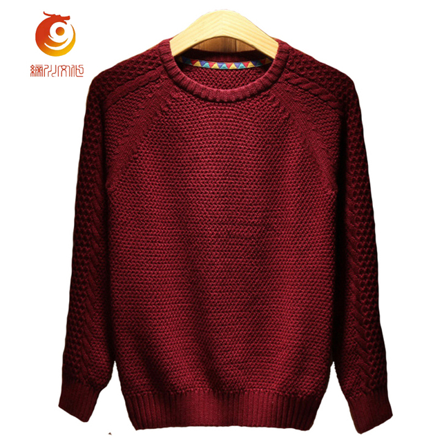 Crochet Mens Sweaters Spring Autumn Men Knitted Sweater 2017 Fashion