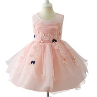 Baby Girl Dress New Fashion Dress For Girl Princess Party Dress For Baby Girl Short Sleeve