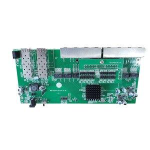 Image 2 - Commutateur PoE inverse 8x10 M/100 M/1000 M Port et 2 SFP Gigabit Ethernet commutateur carte mère PCB