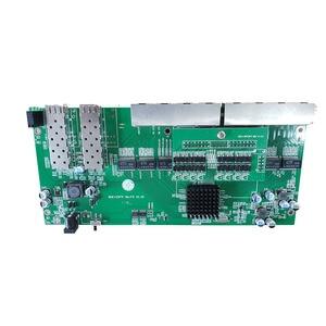 Image 2 - Reverse PoE switch 8x10M/100M/1000M Port & 2 SFP Gigabit Ethernet switch PCB motherboard