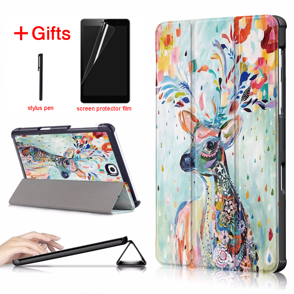 PU Leather Case for Samsung Galaxy Tab S2 8.0 T710 T719 SM-T715 Cover Case for fundas Samsung Galaxy Tab S2 8.0 Case bf for tab s2 8 0 t713 t719 case shell fashion design pattern stand cover for samsung galaxy tab s2 8 0 inch tablet t710 t715c