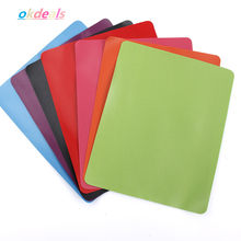 Anti-Slip Karet Mouse Pad 8 Warna Persegi Panjang Alas Mouse Tikar untuk Laptop PC(China)