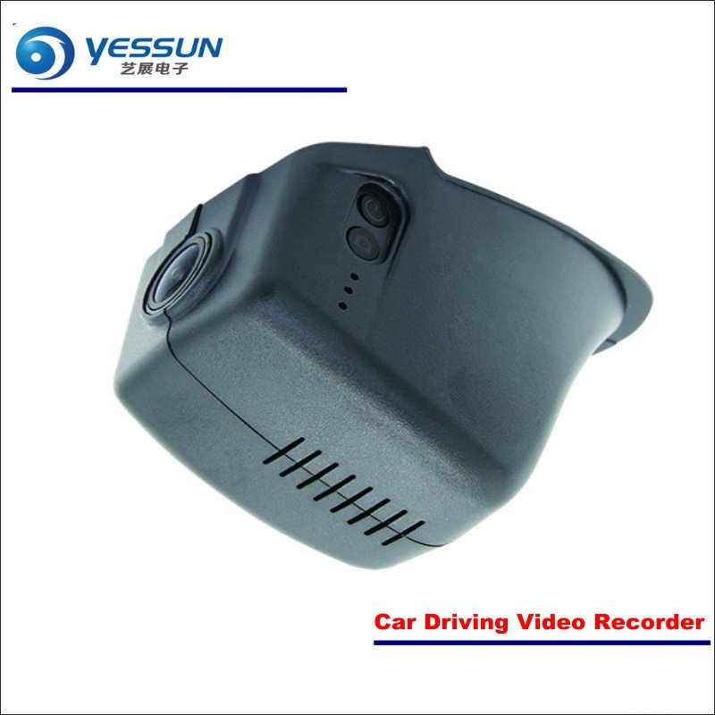 YESSUN Car DVR Driving Video Recorder For Volkswagen VW CC 2015 2016 2017 Front Camera Black Box Dash Cam - Head Up Plug Play yessun car dvr driving video recorder for buick enclave front camera black box dash cam head up plug 1080p wifi phone app