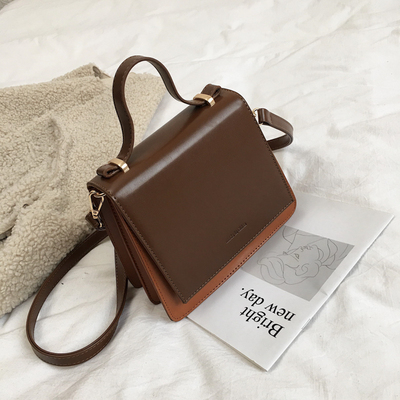HOT Brand Small Square Bags Retro Fashion Female Shoulder Bags Casual Messenger Bag PU Leather Womens Handbag New in 2019HOT Brand Small Square Bags Retro Fashion Female Shoulder Bags Casual Messenger Bag PU Leather Womens Handbag New in 2019