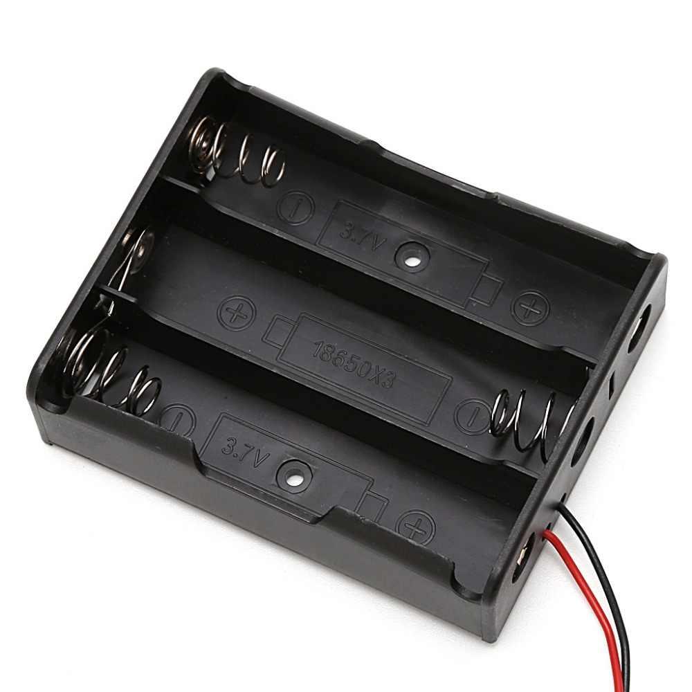 5 Pièces 1/2/3/4x18650 Batterie Rechargeable 3.7V Clip De Fixation Boîtier Avec Fil De Plomb